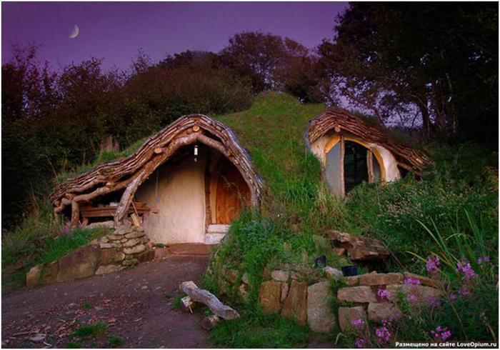 Домик хоббитов из Уэльса, или Как решить жилищный вопрос за $5000