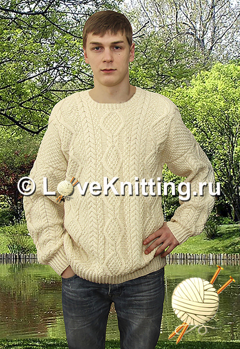 11 Автор Муж пуловер МТ2 (482x700, 540Kb)