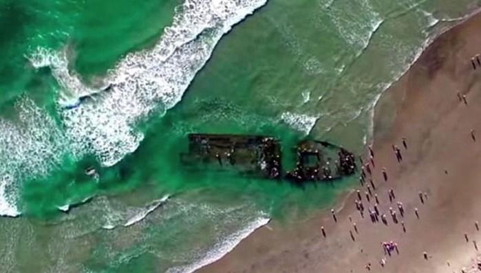 В Калифорнии найден российский корабль-призрак