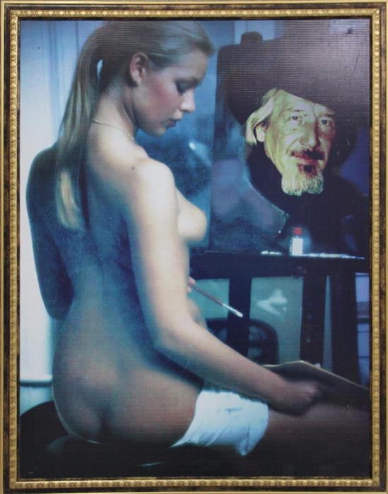 Бурмакин Владимир Иванович  - Художник и модель (2005) (549x700, 413Kb)