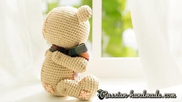 Мишка Тедди крючком. Вяжем амигуруми (2) (583x328, 125Kb)