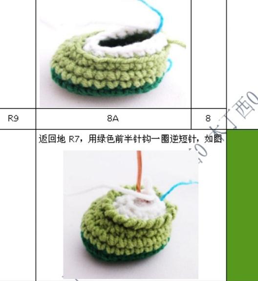 Вязание амигуруми. Куколка Лягушка (14) (528x574, 121Kb)