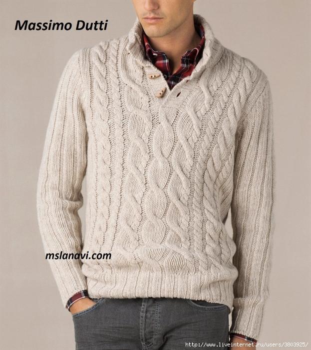 Свитер-спицами-Massimo-Dutti (623x700, 342Kb)