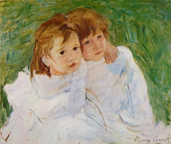 Сёстры, 1885  (700x589, 70Kb)