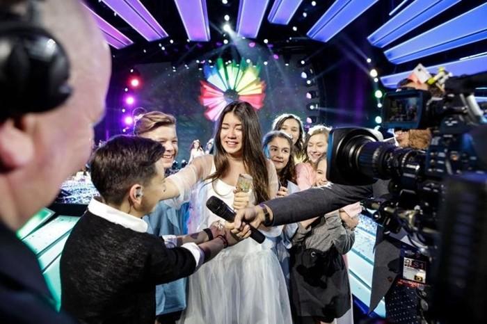 На конкурсе «Детское Евровидение 2017» победила Полина Богусевич (Россия)