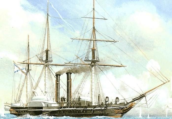 7 лучших русских боевых пароходов