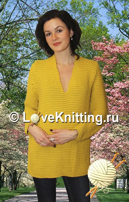 01 Автор Шафран пуловер МТ2 (446x700, 473Kb)