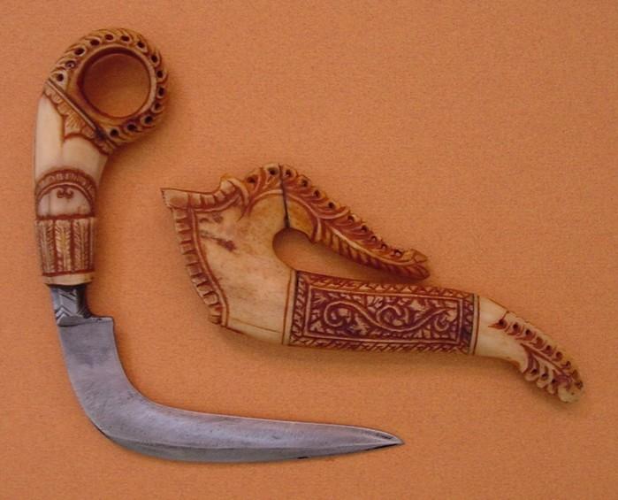 Железный зуб: древние ножи народов мира