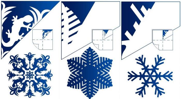 бумажные снежинки 13 (700x385, 265Kb)