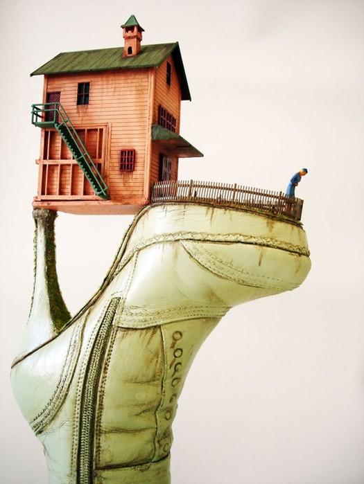 Удивительная арт обувь от Косты Магаракиса