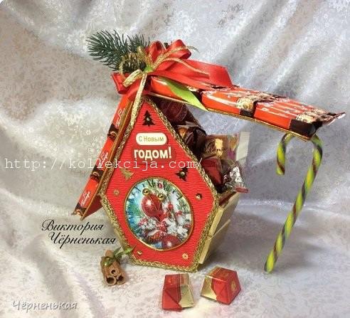 механик мастер класс новогодние подарки из конфет начала работы требуется