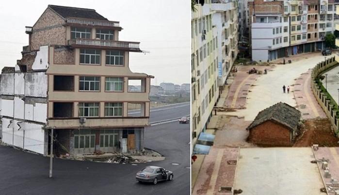 Дома, которые хотели снести, но не смогли…