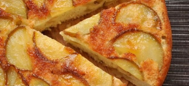 Быстрый простой пирог в духовке рецепт с фото простой