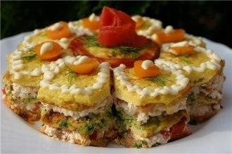 закусочный торт праздничный (330x220, 74Kb)