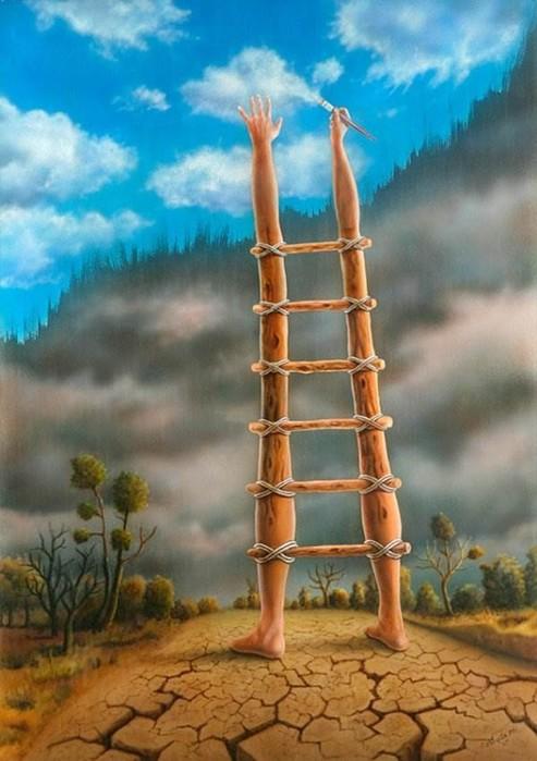 Эротический реализм турецкого художника Mahir Ates