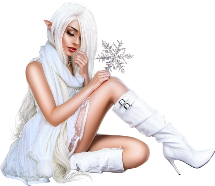 Snow Elf 3 Girl (700x606, 385Kb)