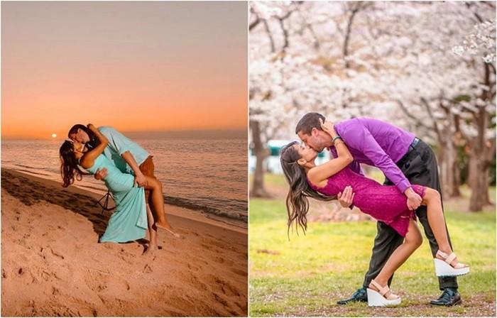 Эта влюбленная пара победила расстояние в 7000 километров
