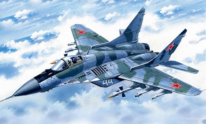 Вертикальный взлет легендарного истребителя МиГ-29 (видео)