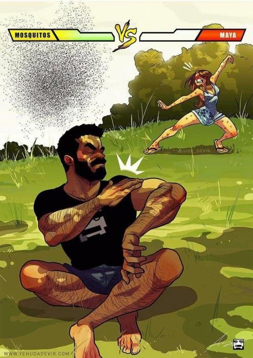 26 честных иллюстраций о жизни женатых мужчин