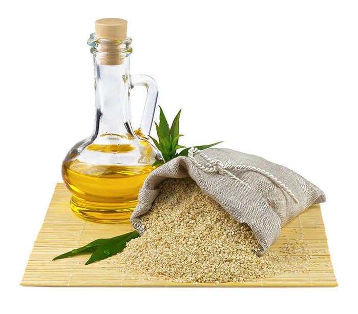 Кунжутное или оливковое масло
