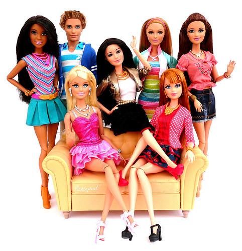 Куклы Barbie в качестве новогоднего подарка!