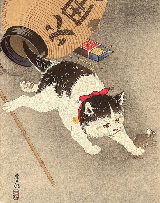 Cat_Catching_Mouse_1930s (549x700, 464Kb)