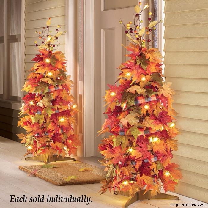 Красивые идеи украшения новогоднего интерьера (4) (700x700, 438Kb)