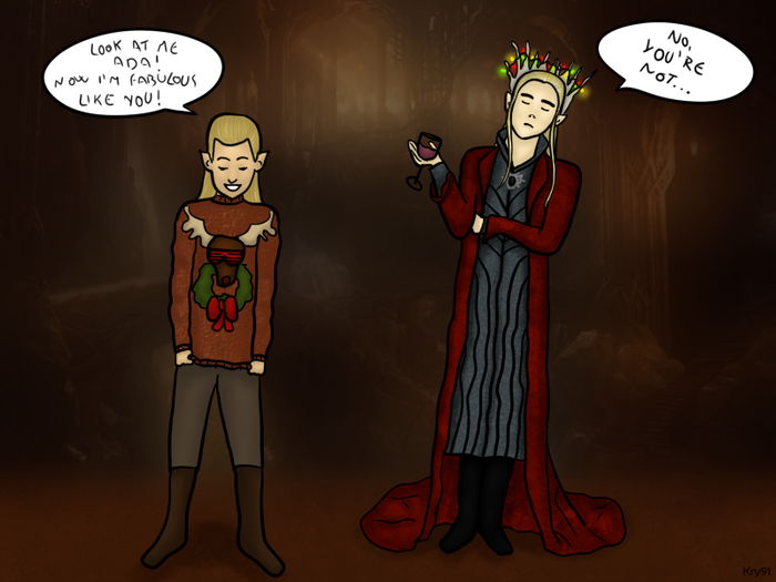 thranduil_and_legolas__a_fabulous_sweater_by_krystal91-d6xnv4x (700x525, 340Kb)