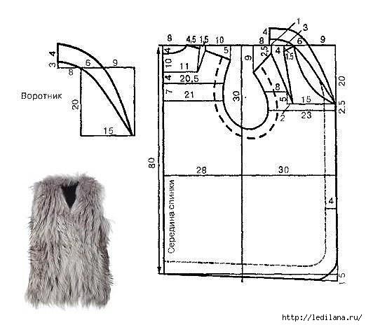 Вязание от горловины крючком схемы с описанием 155