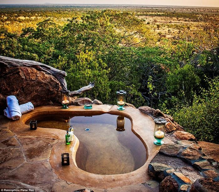Полный расслабон: горячие бассейны и ванны мира