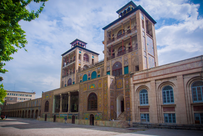 2. дворец Голестан в Тегеране (700x467, 459Kb)