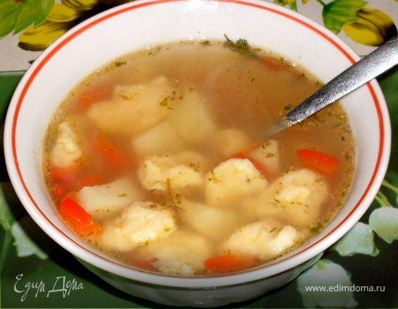 Суп с клецками (580x450, 43Kb)