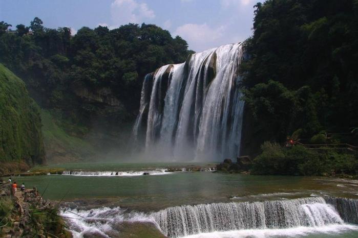 Водопад Хуангошу   знаменитая природная достопримечательность Китая