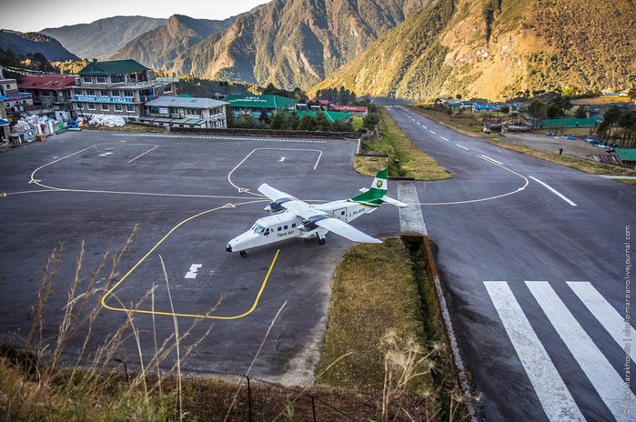 Как устроен самый опасный в мире аэропорт