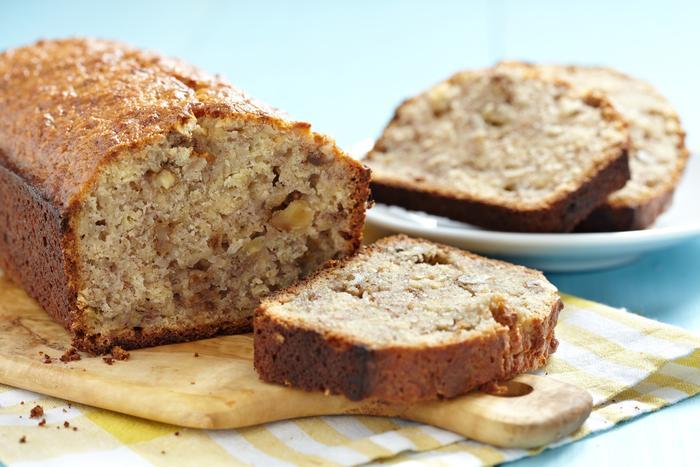 Кофейный хлеб с орехами и медом   низкокалорийный рецепт