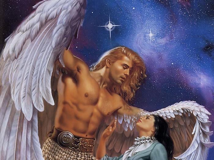 Где у человека находится ангел хранитель