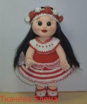 Вязание куклы мастер класс елены ткачевой 238
