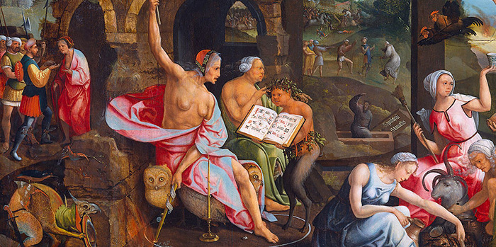 928775_Saul_and_the_Witch_of_Endor_by_Jacob_Cornelisz_van_Oostsanen1 (700x349, 174Kb)