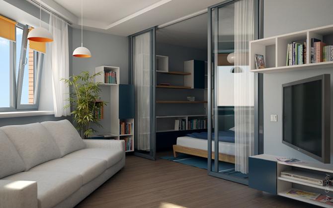 141143123 image015 20 толковых идей для однокомнатной квартиры