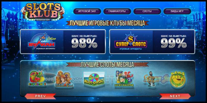 рейтинг казино онлайн с хорошей отдачей 2018 отзывы