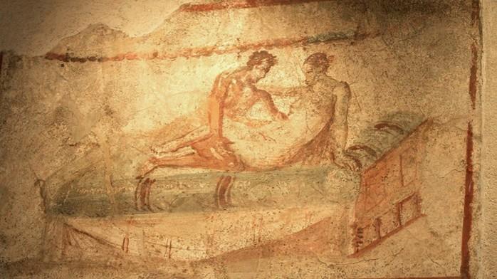 Секс рисунки древности