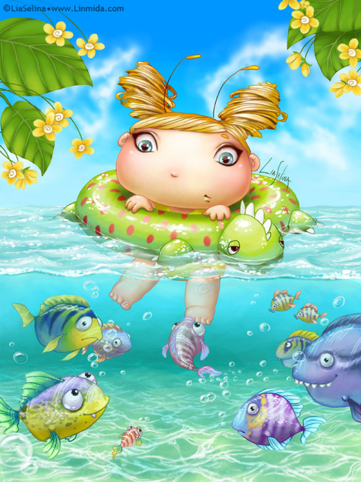 swimming_fairy_bug_by_liaselina-d6y5cwg (525x700, 486Kb)