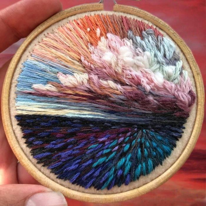 Потрясающие вышивки SHIMUNIA
