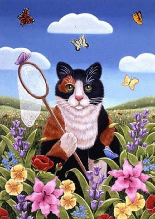 db_Brownd_Elizabeth_Cat_Catching_Butterflies1 (497x700, 114Kb)