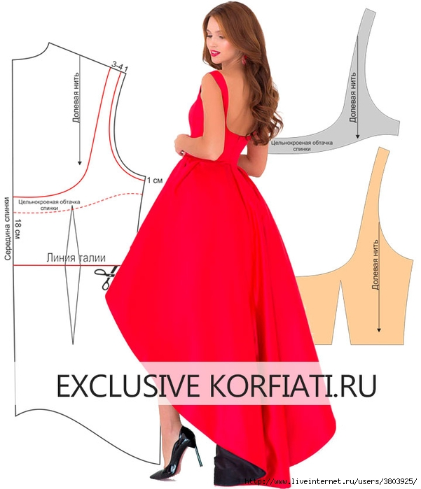 Red-dress-back-pattern (601x700, 158Kb)