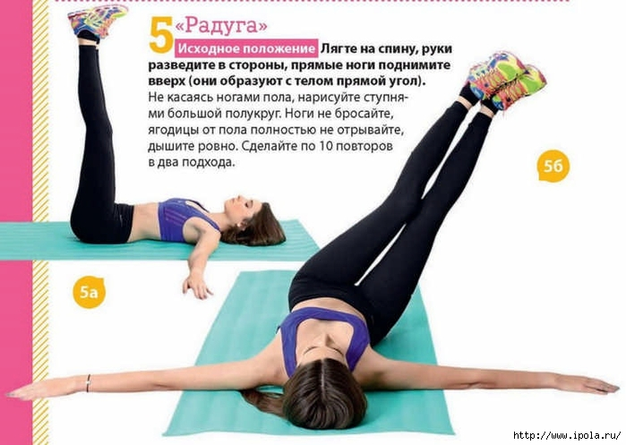 5 упражнений для укрепление мышц живота5 (700x497, 193Kb)