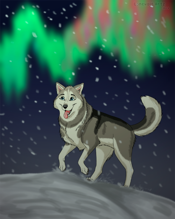 lonewolfartz-northern-lights (560x700, 371Kb)