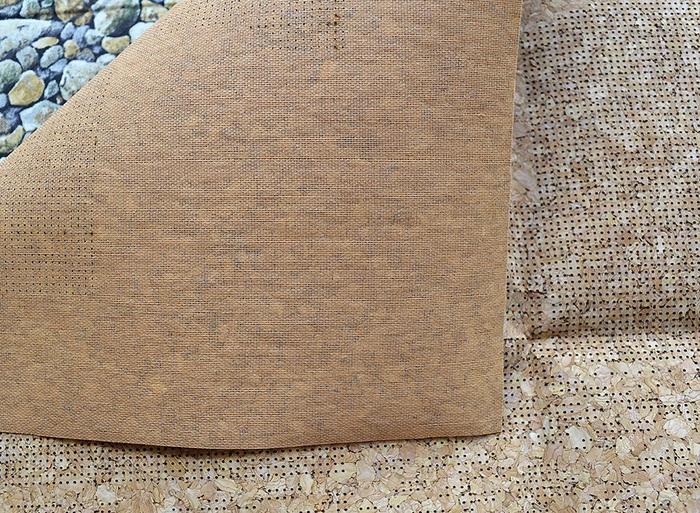 Пробковая ткань для вышивки 26