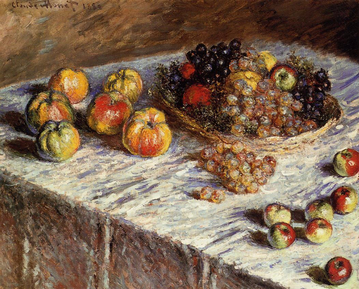 Monet-Still-Life-with-Apples-and-Grapes-1880 (700x562, 565Kb)