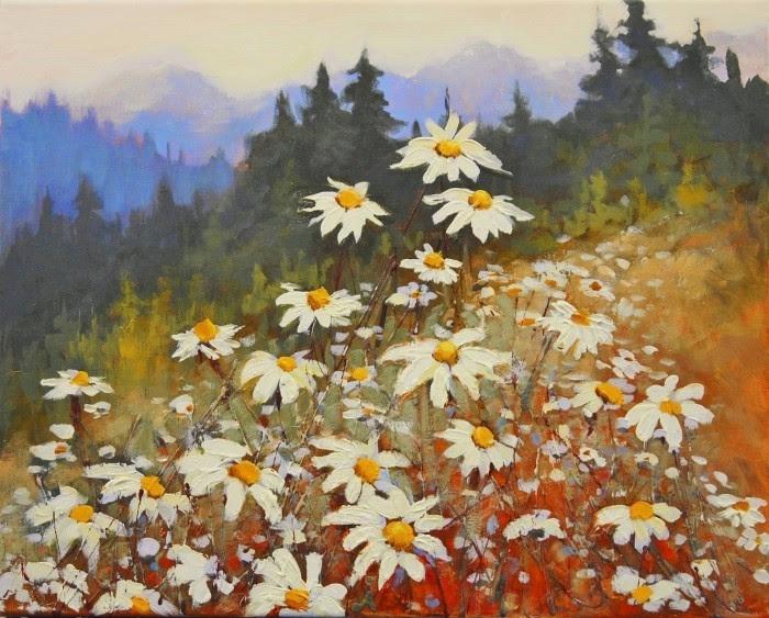 Field of Daisies (700x563, 266Kb)